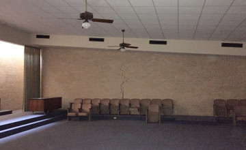 Meeting room Before renovations